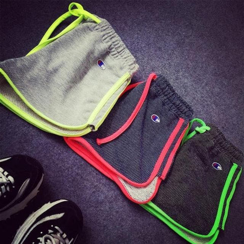 S/M/L 3 Colors Fluorescent Casual Work Out Shorts SP152699 - SpreePicky  - 3