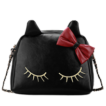 Load image into Gallery viewer, 3 Colors I'm a Little Shy Cat Shoulder Bag SP153062 - SpreePicky  - 6