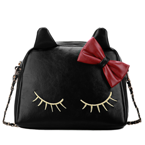 3 Colors I'm a Little Shy Cat Shoulder Bag SP153062 - SpreePicky  - 6