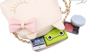 3 Colors I'm a Little Shy Cat Shoulder Bag SP153062 - SpreePicky  - 9