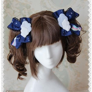 3 Colors [Infanta] Lolita Candy Bears Hair Clip One Pair SP152084 - SpreePicky  - 4