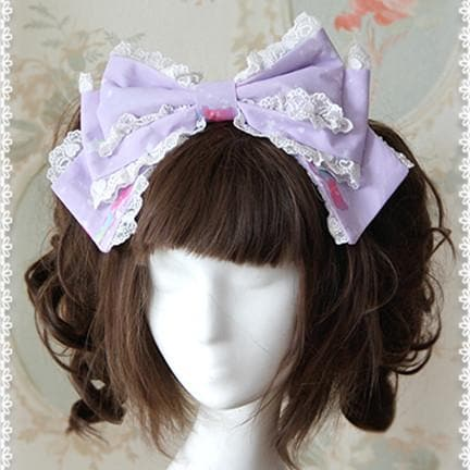 3 Colors [Infanta] Lolita Candy Bears KC Hair Accessories SP152083 - SpreePicky  - 3