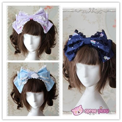 3 Colors [Infanta] Lolita Candy Bears KC Hair Accessories SP152083