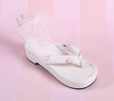 3 Colors Japanese Kawaii Flip Flops Sandal SP152986 - SpreePicky  - 3