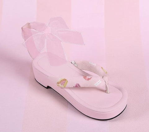 3 Colors Japanese Kawaii Flip Flops Sandal SP152986 - SpreePicky  - 4