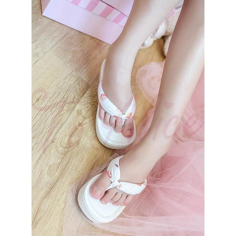 3 Colors Japanese Kawaii Flip Flops Sandal SP152986 - SpreePicky  - 1