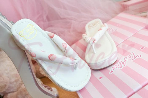 3 Colors Japanese Kawaii Flip Flops Sandal SP152986 - SpreePicky  - 5
