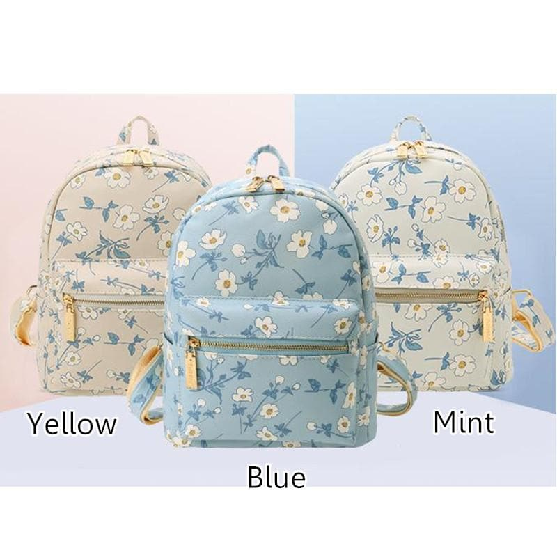 3 Colors Little Daisy Backpack SP152533 - SpreePicky  - 1