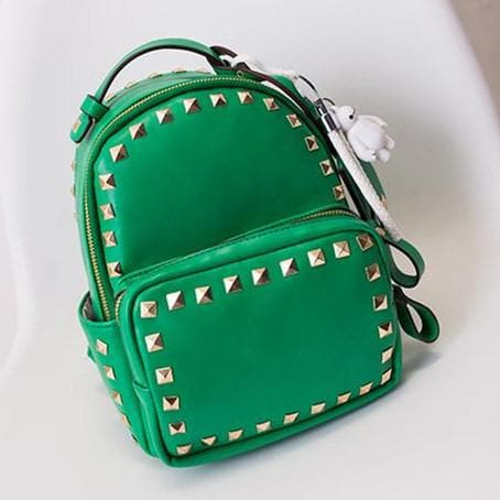 3 Colors Macaron Rivet Small Size Backpack SP152024 - SpreePicky  - 7