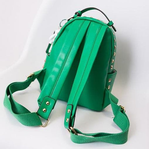 3 Colors Macaron Rivet Small Size Backpack SP152024 - SpreePicky  - 8
