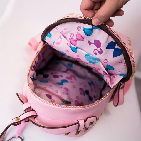 3 Colors Macaron Rivet Small Size Backpack SP152024 - SpreePicky  - 5