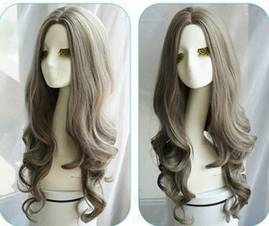 3 Colors Pastel Long Curl Wig SP1711209