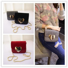 Load image into Gallery viewer, 3 Colors Peach Heart Mini Shoulder Shoulder Bag  SP152366 - SpreePicky  - 1