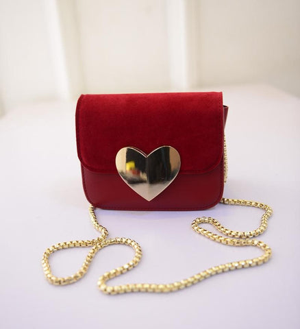 3 Colors Peach Heart Mini Shoulder Shoulder Bag  SP152366 - SpreePicky  - 6