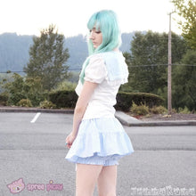 Load image into Gallery viewer, 3 Colors Sailor Moon Bubble Short Sleeve Bow Lace Shirt Top SP140946 - SpreePicky  - 6