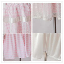 Load image into Gallery viewer, 3 Colors Sailor Stripes Lace Pant-Skirt SP140970 - SpreePicky  - 5