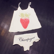 Load image into Gallery viewer, 3 Colors Strawberry Kawaii Summer Sleepwear Set SP152245 - SpreePicky  - 2