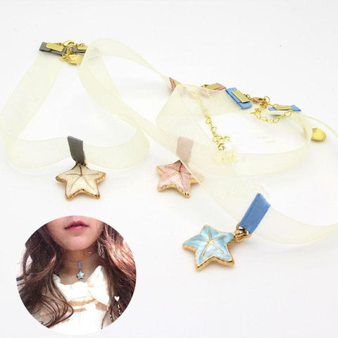 3 Colors Sweet Star Summer Choker SP152155