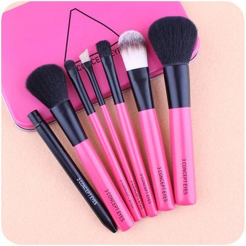 3 colors Kawaii Girl Makeup Tools Cosmetics Brush Set SP153058