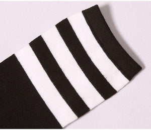 8 Colors Stripes Thigh High Over Knee Socks SP153576 - SpreePicky  - 13