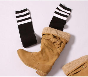 8 Colors Stripes Thigh High Over Knee Socks SP153576 - SpreePicky  - 14