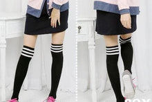 Load image into Gallery viewer, 8 Colors Stripes Thigh High Over Knee Socks SP153576 - SpreePicky  - 7