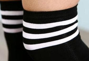 8 Colors Stripes Thigh High Over Knee Socks SP153576 - SpreePicky  - 10