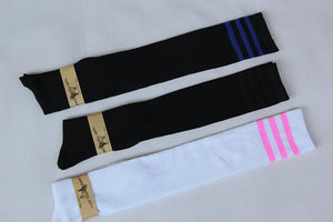 8 Colors Stripes Thigh High Over Knee Socks SP153576 - SpreePicky  - 11