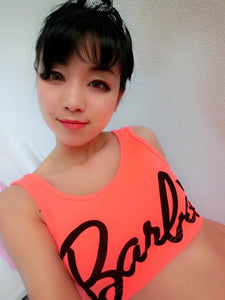 4 Colors Barbie Crop Top Tank SP152698 - SpreePicky  - 2