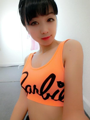 4 Colors Barbie Crop Top Tank SP152698 - SpreePicky  - 3
