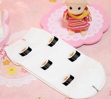 Load image into Gallery viewer, 4 Colors Cutie Japanese Sushi Short Socks SP153683 - SpreePicky  - 4