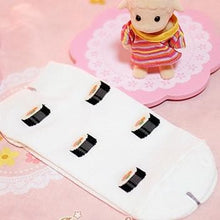 Load image into Gallery viewer, 4 Colors Cutie Japanese Sushi Short Socks SP153683 - SpreePicky  - 8