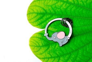 4 Colors Cute Cartoon Animal Key Chain SP1811876