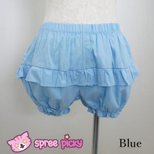 [4 Colors] Flounce Simper Bloomer Shorts SP140974 - SpreePicky  - 2