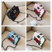 Load image into Gallery viewer, 4 Colors Harajuku Flower Mini Cross Body Bag SP1710287