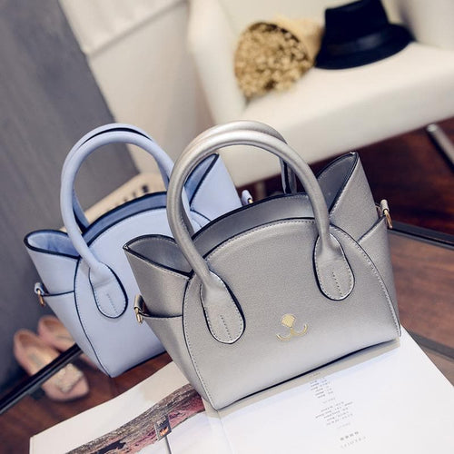 4 Colors Kawaii Cat Handbag Shoulder Bag SP168493