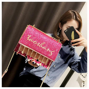 4 Colors Kawaii Colorful Cross Body Bag SP1812373