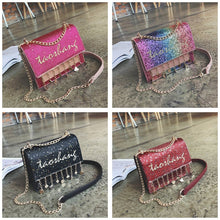 Load image into Gallery viewer, 4 Colors Kawaii Colorful Cross Body Bag SP1812373