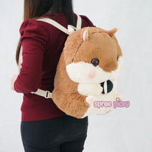 Load image into Gallery viewer, 4 Colors Kawaii Hamster Plush Backpack SP164963 - SpreePicky FreeShipping