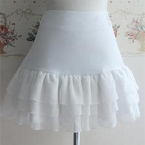 3 Colors Lolita Princess Elegent Knotbow Chiffon Skirt SP141282 - SpreePicky  - 3