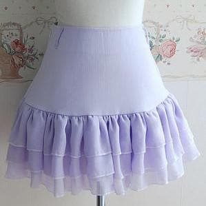 3 Colors Lolita Princess Elegent Knotbow Chiffon Skirt SP141282 - SpreePicky  - 2