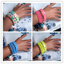 Load image into Gallery viewer, 4 Colors Macarons Bracelets SP152546 - SpreePicky  - 1