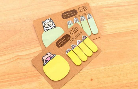 4 Colors Mori Girl Message Sticky Note SP153128 - SpreePicky  - 7