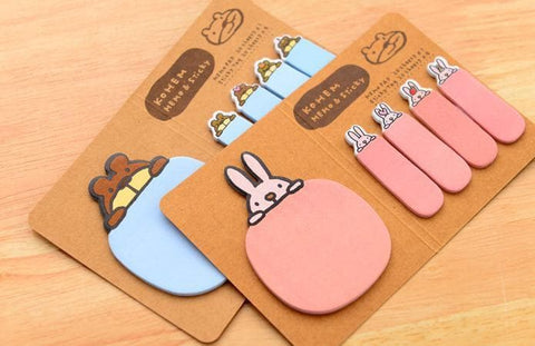 4 Colors Mori Girl Message Sticky Note SP153128 - SpreePicky  - 6