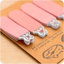 Load image into Gallery viewer, 4 Colors Mori Girl Message Sticky Note SP153128 - SpreePicky  - 5