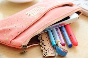 4 Colors Mori Girl Stationery Bag Storage Bag SP153123 - SpreePicky  - 8
