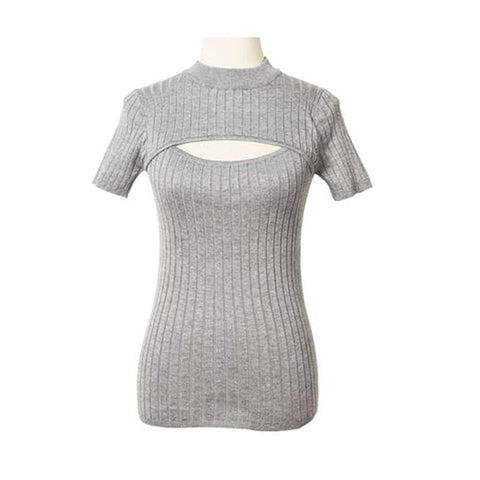 4 Colors Open Chest Sexy and Cute Sweater SP152163 - SpreePicky  - 6