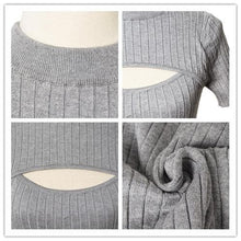 Load image into Gallery viewer, 4 Colors Open Chest Sexy and Cute Sweater SP152163 - SpreePicky  - 7
