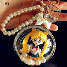 Load image into Gallery viewer, 4 Colors Sailor Moon Chibi Princess Key/Bag Chain SP1812115