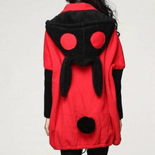 Load image into Gallery viewer, 4 colors M-2XL Loose Fleece Bunny Ear Hoodie Jacket Coat SP141469 - SpreePicky FreeShipping